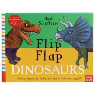 Flip Flap Dinosaurs Book