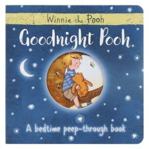 Goodnight Pooh Bedtime Peep-through Board Book