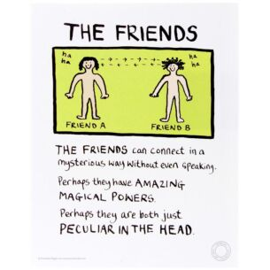 The Friends Limited Edition Fine Art Print