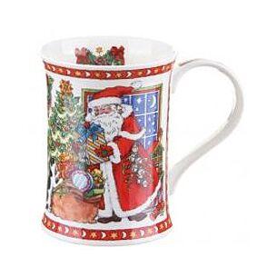 It's Christmas - Window With Moon Cotswold shape Mug