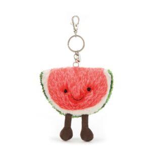 Jellycat Amuseables Watermelon Bag Charm