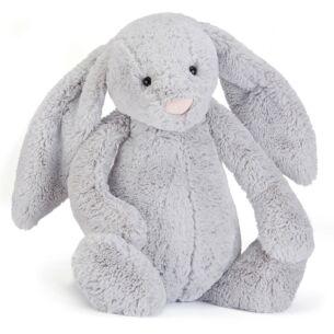Jellycat Large Bashful Silver Bunny