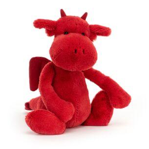 Medium Bashful Red Dragon