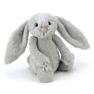 Small Bashful Silver Bunny