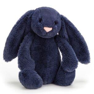 Medium Bashful Navy Bunny