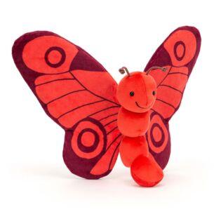 Breezy Poppy Butterfly