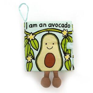I Am An Avocado Fabric Book