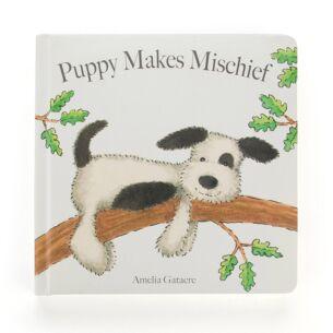 Puppy Makes A Mischief Hardback Book