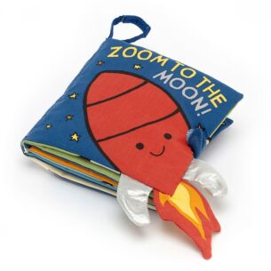 Zoom To The Moon Crinkle Book