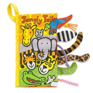 Jungly Tails Soft Fabric Book