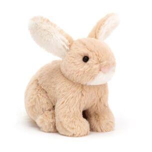 Tiny Mini Lop Oatmeal Bunny