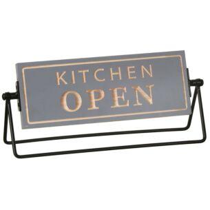 Moving Memo 'Kitchen Open' Plaque