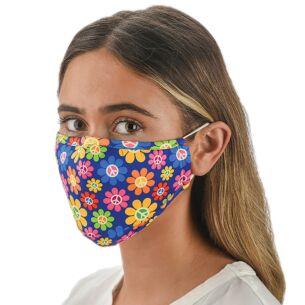 Face Cover with Flexible Nose Bridge - Daisy