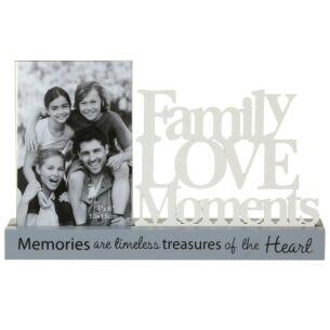 Loving Words Decorative Family Photo Frame 6x4