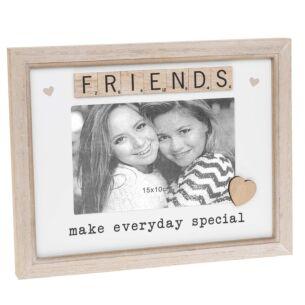 Scrabble 'Friend' Sentiments Frame