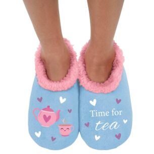 Snoozies 'Time for Tea' Slippers