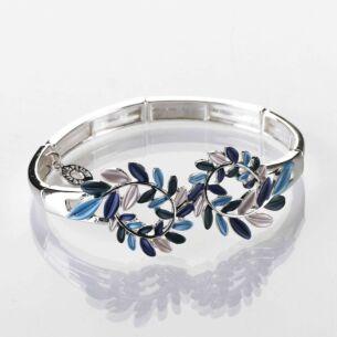 Luna Tones Leaf Curl Bracelet