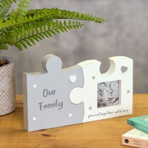 Family Jigsaw Photo Frame