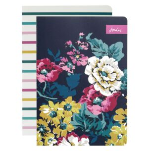 Cambridge Floral Set of 2 A5 Notebooks