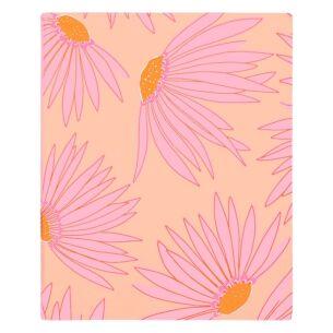 Falling Flower Concealed Spiral Notebook