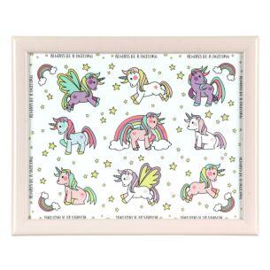 Unicorns Small Lap Tray