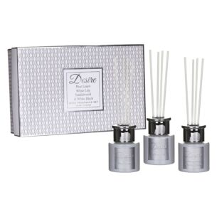 Desire White Diffusers Home Fragrance Set