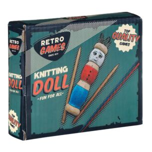 Retro Knitting Doll