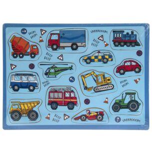 Vehicles 12 Piece Puzzle
