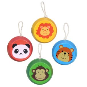 Assorted Zoo Animal Wooden Yoyo
