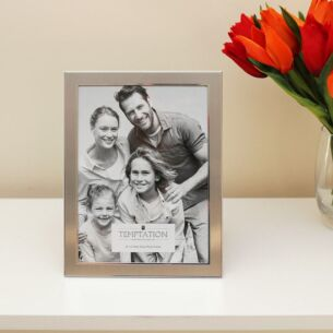 Silver Edged Photo Frame 8x6