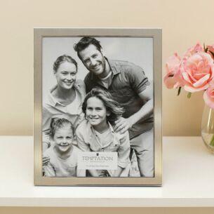 Silver Edged Photo Frame 10x8