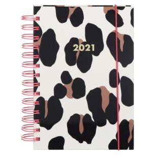 Forest Feline 12 Month 2021 Spiral Medium Planner