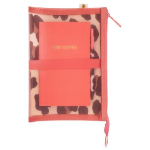 Forest Feline Jotter Pad and Pouch
