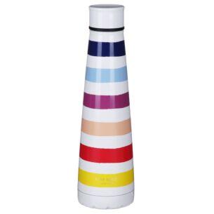 Candy Stripe Stainless Steel Water Bottle