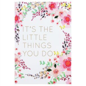Louise Tiler 'It's The Little Things' Card
