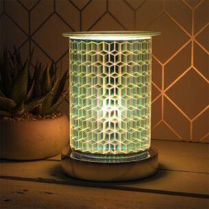 Desire Straight Sided Rhombus Aroma Lamp Wax Melt Warmer
