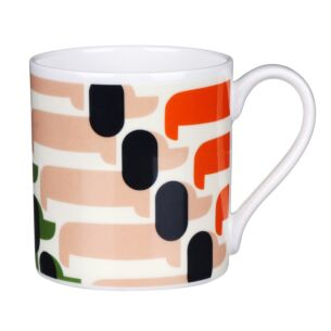 Orange Sausage Dog Large Mug