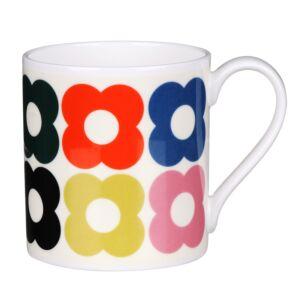 Spot Flower Fun Large Mug