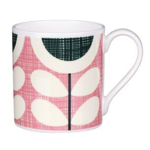 Pink Scribble Sunflower Large Mug