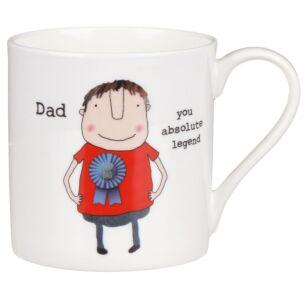 Dad You Absolute Legend Mug