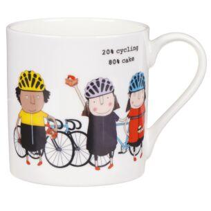 Cycling/Cake Mug