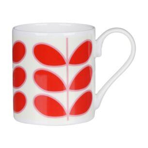 Linear Stem Red Standard Mug