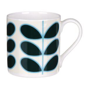 Linear Stem Teal Large Mug