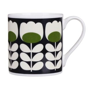 Green Tulip Stem Large Mug