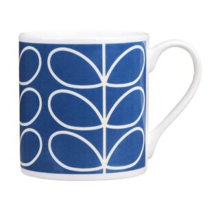 Periwinkle Blue Linear Stem Large Mug