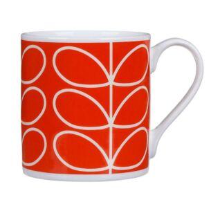 Orla Kiely Orange Poppy Linear Stem Large Mug