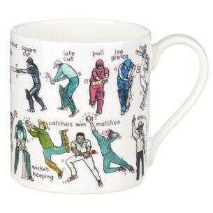 The Art Of Cricket Large Mug
