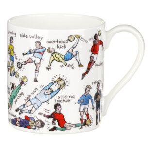The Art Of Football Large Mug