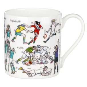 The Art Of Rugby Large Mug
