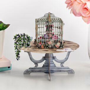"""The Bird Table"" 3D Card"